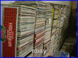 12000+ LP's 70 Year Old Record collection
