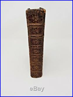 1679 Old Testament Holy Bible Red Ruled FINE gilt decorated leather binding