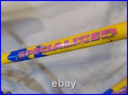 1980s SPECIALIZED ROCKHOPPER OLD SCHOOL MOUNTAIN BIKE VINTAGE BMX STUMPJUMPER 80