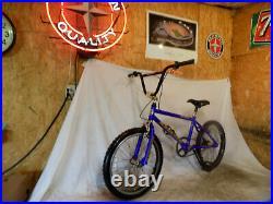 1990s REDLINE RL340 BMX DIRT BIKE GOLD ANODIZED MID-OLD SCHOOL GT HUTCH HARO 90s