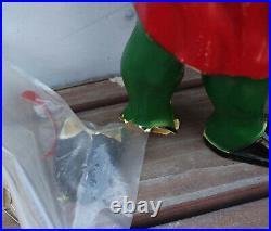 3 Rare & Vintage Keebler Cookie Elf 22 Store Display Moving Arms Former Light
