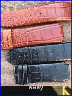 4 Renato Genuine Alligator Straps for Renato Old Beast Watch Collection 20mm