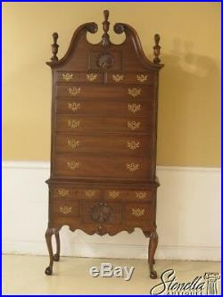 43896EC KITTINGER Old Dominion Collection Mahogany Highboy
