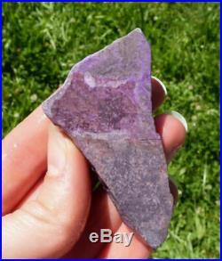 45.3g SUGILITE Rough Slab A Grade Old Stock Kalahari, South Africa 37423