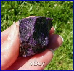 46.6g SUGILITE Rough Natural A Grade Old Stock Kalahari, South Africa 37462