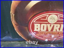 46964 Old Vintage Antique Card Shop Sign Not enamel GIANT Bovril Jar Display