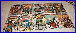 82 old 1970s comic books lot super heroes horror superman xmen jla batman 70s