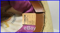 ANTIQUE 5X MEXICAN SOMBRERO COW HIDE BRIM Cowboy Hat Old West Western Movie SASS