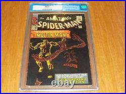 Amazing Spider-Man #28 CGC 7.5 OLD LABEL 1st Appearance Molten Man, WOW