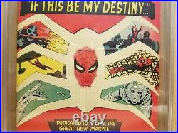 Amazing Spider-man #31 Cgc 8.0 Vf 1st Gwen Stacy & Harry Osborn 1965 Old Case