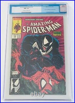 Amazing Spider-man #316 Cgc 9.6 Venom Mcfarlane Old Label Never Pressed