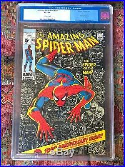 Amazing Spiderman Comics #100 Cgc 8.0 Owp Very Nice Old Label