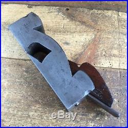 Antique HENRY SLATER ROSEWOOD Infill Shoulder PLANE Vintage Old Hand Tool #215