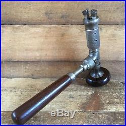 Antique JOHN FRAY No70 Cocobolo Joist BRACE Vintage Old Hand Drilling Tool #121