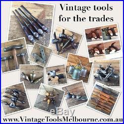 Antique LEAF SPRING Swedish Erikssons BRACE 7 Vintage Old Drill Hand Tool #141