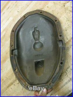 Antique Vintage Cast Iron Embossed JI Case Tractor Casting Old Abe Eagle Decor