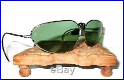 Antique WWII Willson Green Aviator Sunglasses Goggles Vtg Old Willsonite Glasses