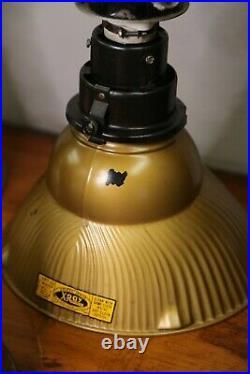 Antique industrial light Lamp Fixtures Kitchen Bar Loft Mercury glass shades old
