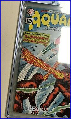 Aquaman #1 1962 CGC 5.5 Off-White Pages Mega Key DC Silver Age Old Label