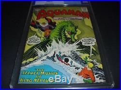 Aquaman #9 CGC 9.0 Old Blue Label from 1963! DC Comics not CBCS