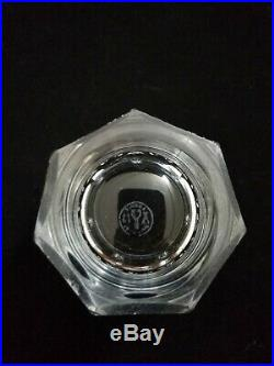 Baccarat Harcourt 1841 Collection Old Fashion Tumbler 8 Ounce 3 7/8 Tall