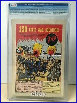 Batman #121 (1959) CGC 4.5 1st Appearance Mr Freeze Old Label OwithW Pages