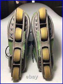 Bauer Civility Inline Aggressive Skates US 9.5 VTG Old School Rare Collectable