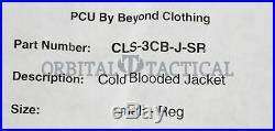 Beyond Level 3 Cold Blooded Fleece Jacket Coyote Brown SR Small Regular Old Gen