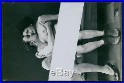 Biederer couple nude woman old 1920s postcard lot set of 5 originally censored