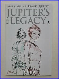 CGC 9.8 JUPITERS LEGACY #1 1st PRINT RARE OLD LABEL CGC NETFLIX SERIES + BONUS
