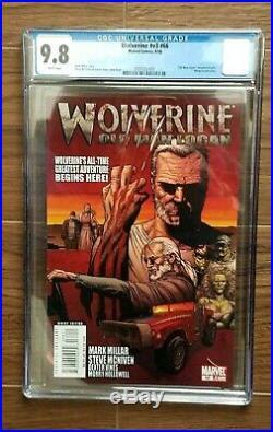 CGC 9.8 MINT 1ST PRINT Wolverine #66 (08/08, Marvel) KEY BOOK 1ST OLD MAN LOGAN