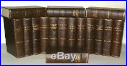 Charles Dickens 16 BOOK Collection BROWN COLLECTION C1930's Vintage 86 YRS OLD