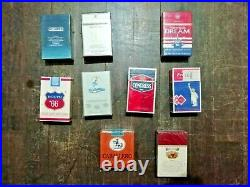 Cigarette Collection Black Death Gauloise West Old Packages Not to be Smoked