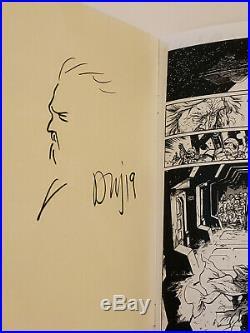 Daniel Warren Johnson Old Man Skywalker Comic Rare Signed Sketched Star Wars