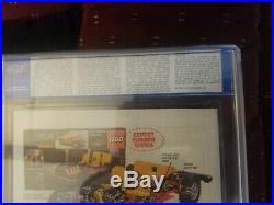 Daredevil 168 cgc 7.0 -FIRST ELEKTRA! FRANK MILLER CLASSIC! Old cgc label