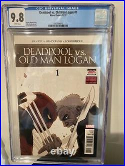 Deadpool vs Old Man Logan #1 Marvel Comics CGC 9.8