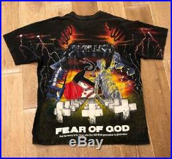 Fear Of God T Shirt Men Collectible One Size Vintage Old Model Fashion Japan