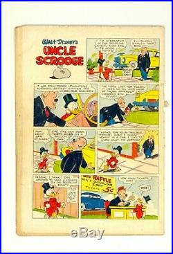 Four Color Comics #386 1.5 (O/W) Uncle Scrooge Only a Poor Old Man Dell 1952