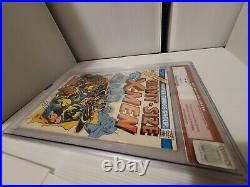 Giant Size X-men 1 CGC 8.0 old red label