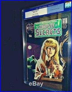 HOUSE OF SECRETS #92 1st Appearance SWAMP THING! CGC 7.0 Unpressed Old Case KEY