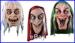 Halloween EC Comics Collection Vault Keeper / Old Witch & Crypt SET OF 3 Masks