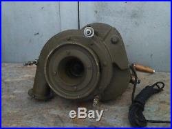 Handle Forge Blower Blacksmith Army USSR New Old Stock Electric Motor 220v