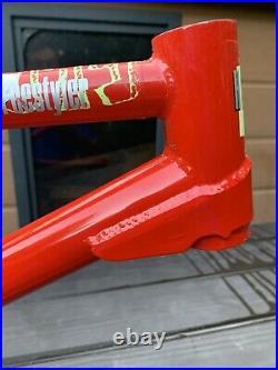 Haro Psycho Freestyler 1989 Old School BMX Frame & Forks not master invert fst