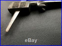 High grade old African ebony axe not sword Tanzania