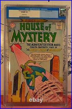 House of Mystery #144 CGC 9.0 Manhunter From Mars Old Label 1964