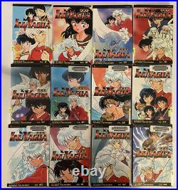 Inuyasha Manga 24 Graphic Novel Book Lot (English Language, Former Library)