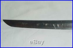 Japanese WW2 Gunto Sword Wakizashi Samurai Katana Old Signed Blade