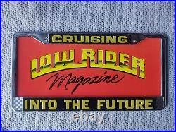 LICENSE PLATE FRAME AND INSERTS LOWRIDER CRAGAR Impala Cadillac Cutlass 1964 sbc
