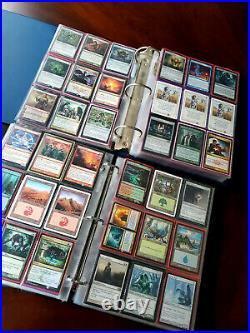 Magic the Gathering Collection Two Binders $2,200+ TCGPlayer Lowest Old cards