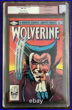 Marvel Wolverine Limited Series #1 1982 CGC 9.6 Frank Miller Old Label Unpressed